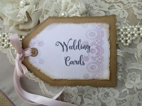 Handmade Tag Cards Sign